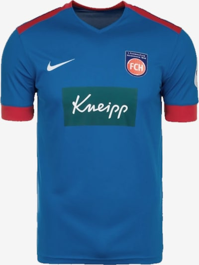 FC Heidenheim Trikot in blau / hellrot, Produktansicht