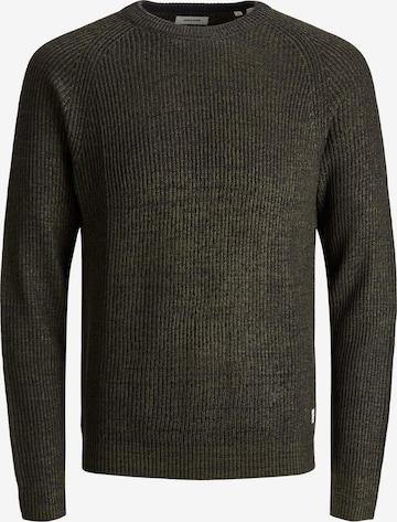 JACK & JONES Sweater 'Annel' in Green