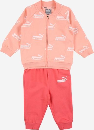 PUMA Jogginganzug in pink / rosé / weiß, Produktansicht