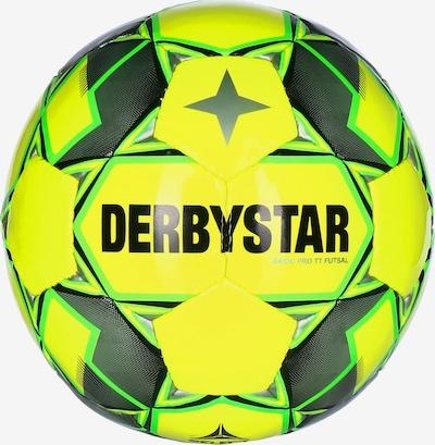 DERBYSTAR Fußball 'Basic Pro TT' in neongelb / grau / grün, Produktansicht