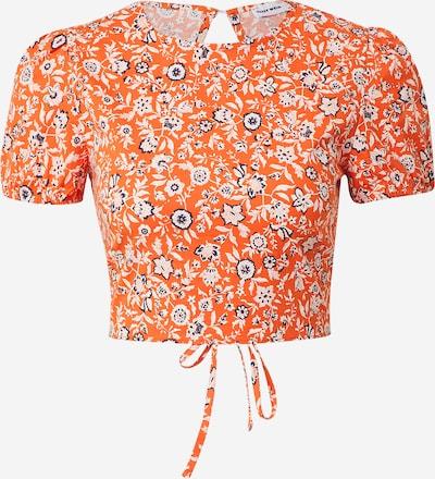 Tricou Tally Weijl pe albastru / portocaliu / roz / alb, Vizualizare produs