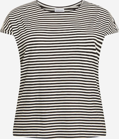 Vero Moda Curve Tričko 'AVA' - čierna / biela, Produkt