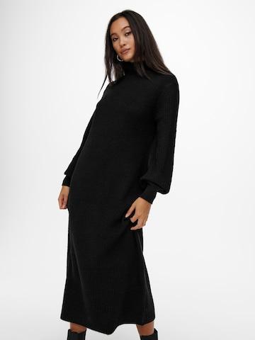 Robes en maille 'Lucca' ONLY en noir
