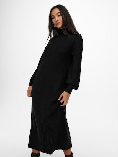 ONLY Strickkleid 'Lucca' in schwarz, Modelansicht