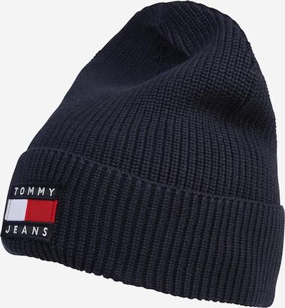 Tommy Jeans Bonnet 'HERITAGE' en bleu marine / rouge / blanc, Vue avec produit