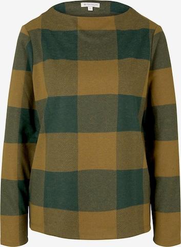 TOM TAILOR Sweatshirt in Grün