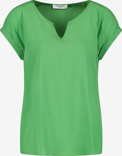 GERRY WEBER Blusenshirt aus Viskose in grün, Produktansicht