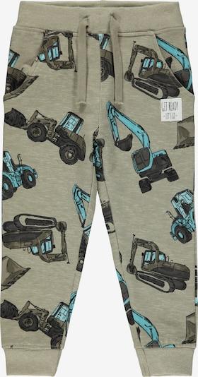 Pantaloni 'Donni' NAME IT pe turcoaz / gri piatră / kaki, Vizualizare produs