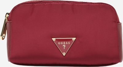 GUESS Kozmetična torbica | vinsko rdeča barva, Prikaz izdelka