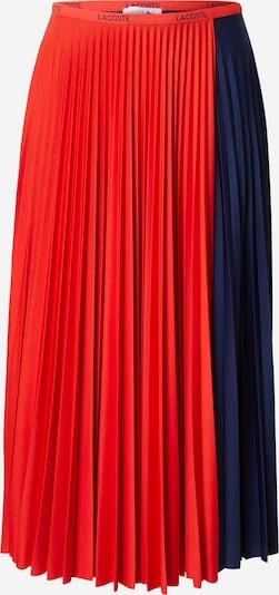 LACOSTE Sukně - tmavě modrá / červená, Produkt
