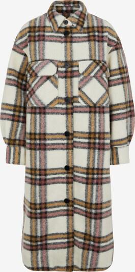 OBJECT Between-Seasons Coat in Brown / Black / White, Item view
