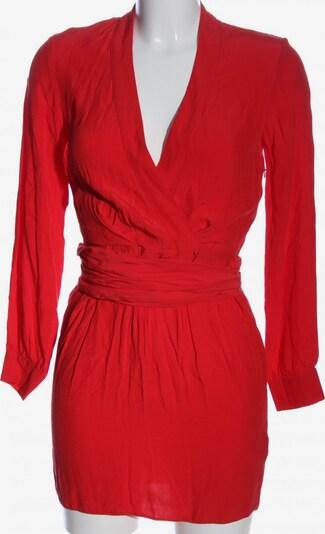 ASOS DESIGN Petite Langarmkleid in XS in rot, Produktansicht