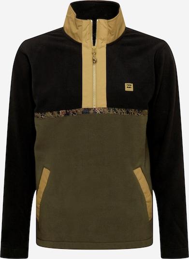 BILLABONG Fleece jacket in Khaki / Olive / Black, Item view