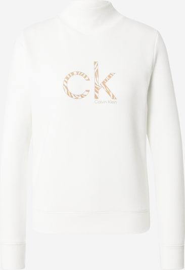 Calvin Klein Sweatshirt in Beige / White, Item view