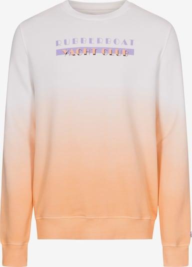 COLOURS & SONS Sweatshirt 'DANNY' in orange / weiß, Produktansicht