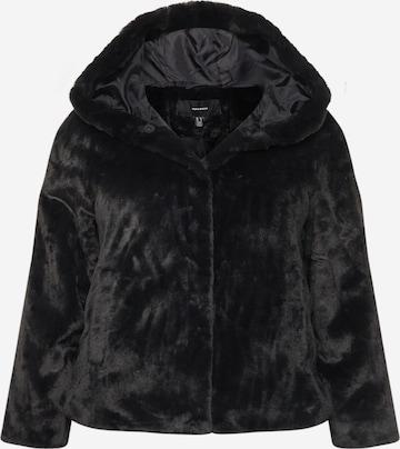 Vero Moda Curve Overgangsjakke 'IBEN' i svart
