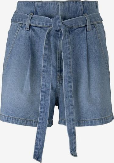 TOM TAILOR DENIM Pleat-front jeans in Blue denim, Item view