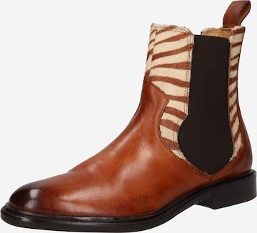 MELVIN & HAMILTON Chelsea boots 'Sally' i brun