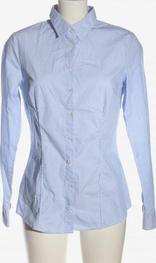 SCHIESSER Langarmhemd in M in blau / weiß, Produktansicht
