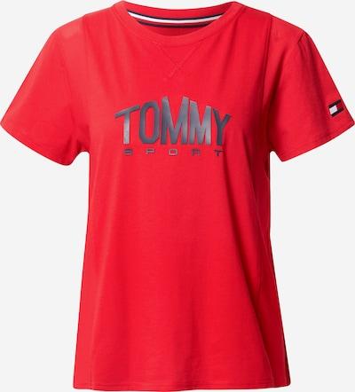 Tommy Sport T-shirt fonctionnel en rouge, Vue avec produit