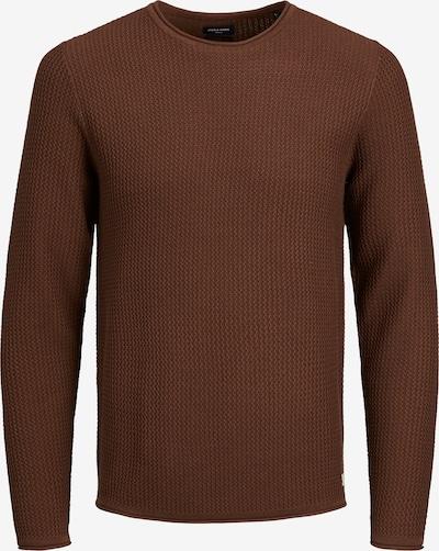 JACK & JONES Pullover 'Carlos' in schoko, Produktansicht