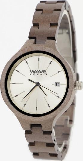 Wave Hawaii Holz-Armbanduhr ' Grauer Ahorn ' in beige, Produktansicht