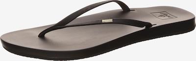 REEF Strand-/badschoen 'Cushion Bounce' in de kleur Zwart, Productweergave