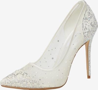 Dune LONDON Zapatos con plataforma en gris plateado / blanco, Vista del producto