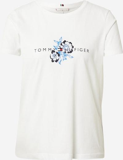 TOMMY HILFIGER Tričko - modrá / námornícka modrá / červená / biela, Produkt