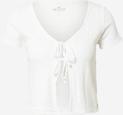 HOLLISTER Strickjacke in weiß, Produktansicht