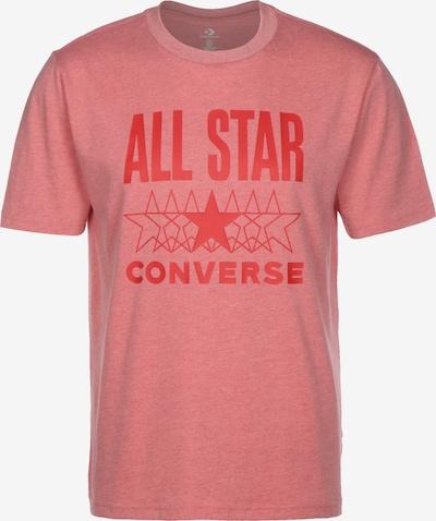 CONVERSE T-Shirt  'All Star' in rot / hellrot, Produktansicht