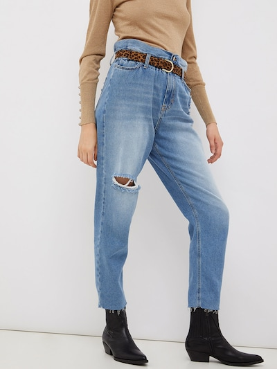 LIU JO JEANS Jeans in Blue denim, View model