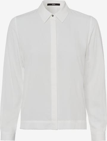 zero Bluse in Weiß