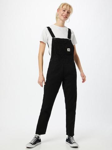 Carhartt WIP Tuinbroek jeans in Zwart