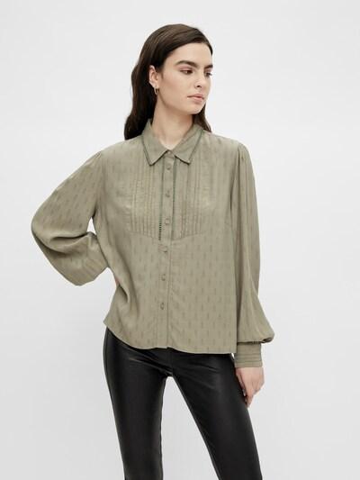 Y.A.S Bluse 'Olly' in schlammfarben, Modelansicht