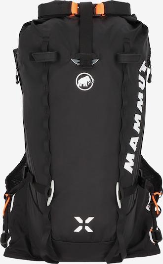 MAMMUT Sac à dos de sport 'Trion Nordwand 15' en orange / noir / blanc, Vue avec produit