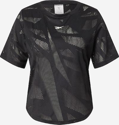 Reebok Sport Funktsionaalne särk must / valge, Tootevaade