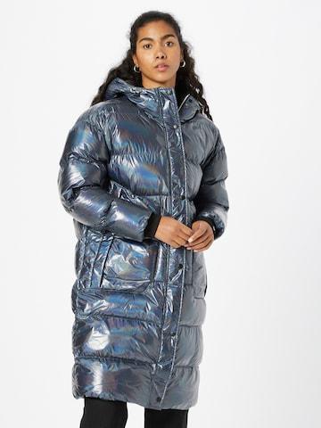 FREAKY NATION Winter Coat 'Ice Legend' in Grey