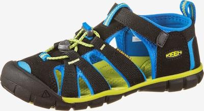 KEEN Outdoorsandale 'Seacamp II' in blau / gelb / schwarz, Produktansicht