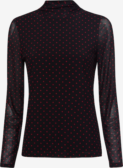 zero Shirt in rot / schwarz, Produktansicht