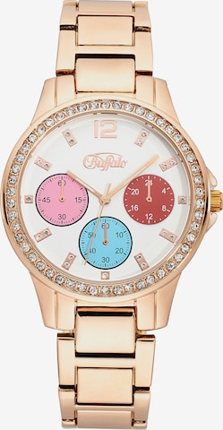 BUFFALO Analog Watch in Gold