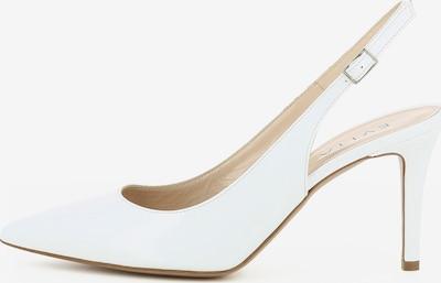 EVITA Slingpumps in de kleur Wit, Productweergave