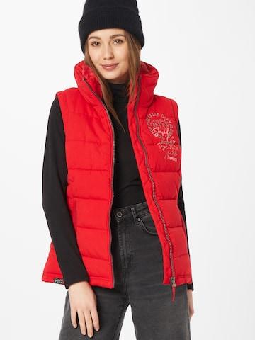 Soccx Vest in Red