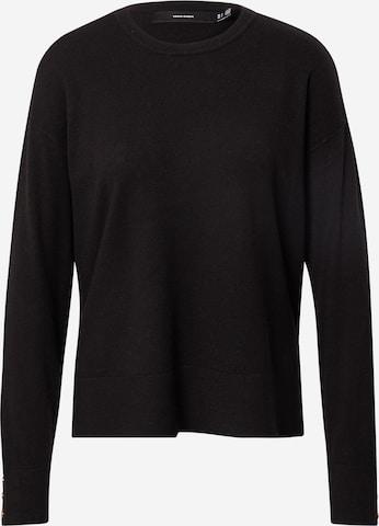 VERO MODA Sweater 'KARIS' in Black