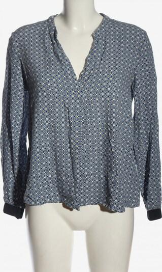 Part Two Langarm-Bluse in M in blau / schwarz / wollweiß, Produktansicht