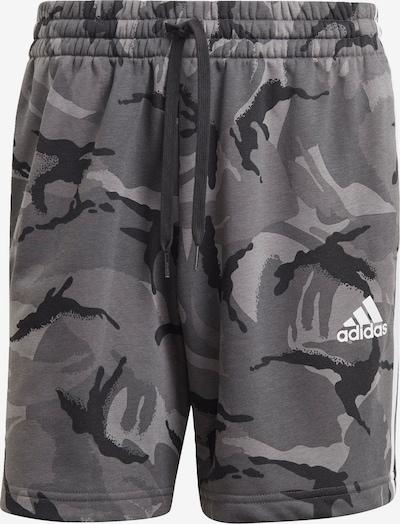 ADIDAS PERFORMANCE Shorts in grau / schwarz, Produktansicht