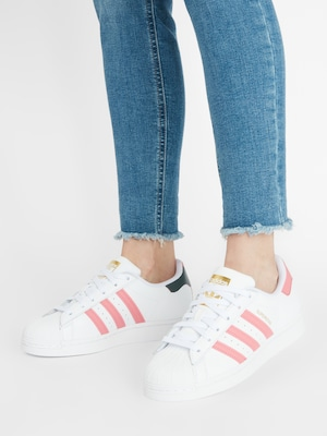 ADIDAS ORIGINALS Sneaker 'Superstar' in gold / hellpink / weiß