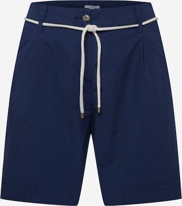 Esprit Curves Plissert bukse i blå