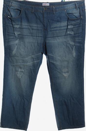 SHEEGO 3/4 Jeans in 45-46 in blau, Produktansicht