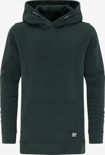 Petrol Industries Sweater in tanne / weiß, Produktansicht